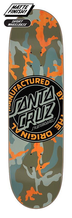 Santa Cruz MFG Dot Boats Skate Deck in 9