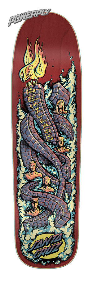 Santa Cruz Remillard Monument Powerply Skate Deck in 8.8