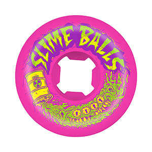 54mm Toxic Terror Speed Balls 99a Slime Balls Skateboard Wheels