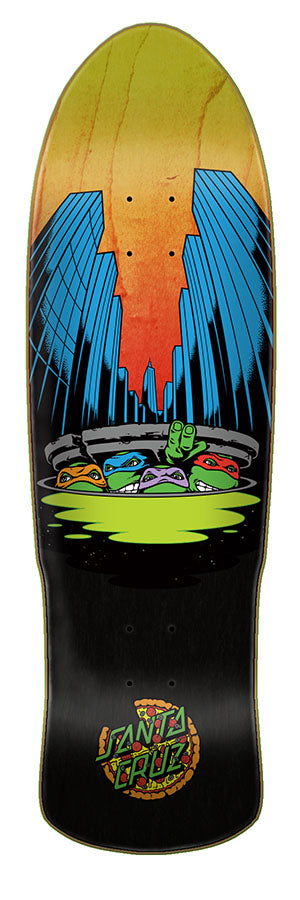 Santa Cruz TMNT Preissue Skate Deck in 9.42