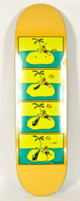 Passport Skateboards SOS Deck in 8.6