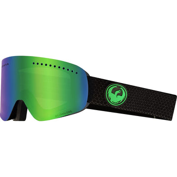2020 Dragon NFX Snow Goggles in Split with LL Green Ion and Amber Lens