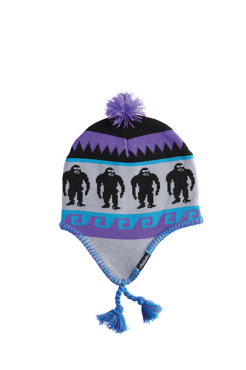 2021 Airblaster Squatchamama Beanie in Barney