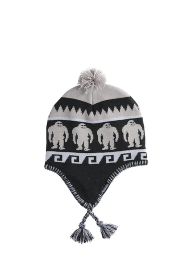 2021 Airblaster Squatchamama Beanie in Charcoal
