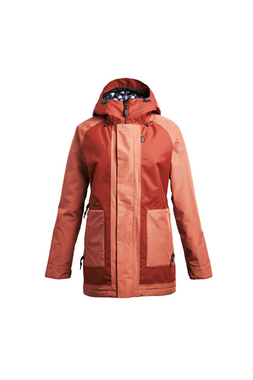 2022 Airblaster Storm Cloak Womens Snow Pant in Copper Rust
