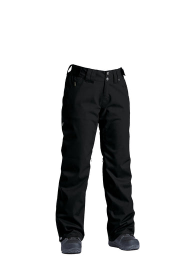 2022 Airblaster Stretch Curve Womens Snow Pant in Insulated Black