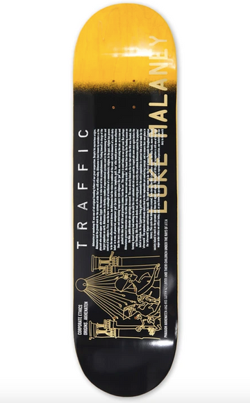 Traffic Ricks Picks Malaney Skate Deck in 8.6