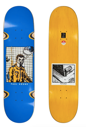 Polar Skate Co Paul Grund Medusa Skate Deck in 8.375