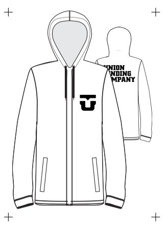 2021 Union Team Mens Jacket in White