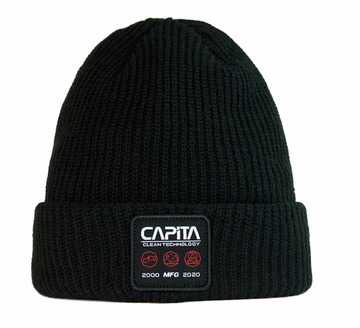 2021 Capita Clean Tech Beanie in Black