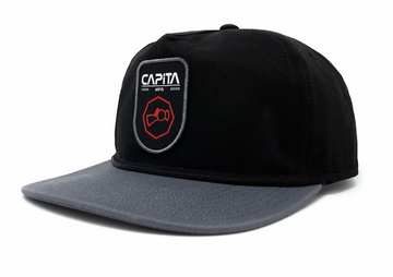 2021 Capita Shield Hat in Black