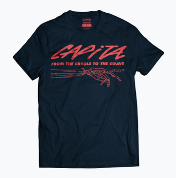 2021 Capita Grave T Shirt in Black