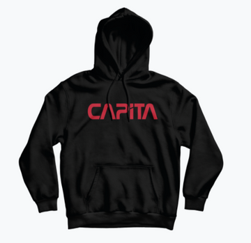 2021 Capita Mars 1 Hooded Sweatshirt in Black