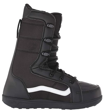 2021 Vans Hi Standard Linerless Snowboard Boot in Black and White