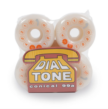 Dial Tone Rotary Classic Conical Cut 54mm 99a Skate Wheel