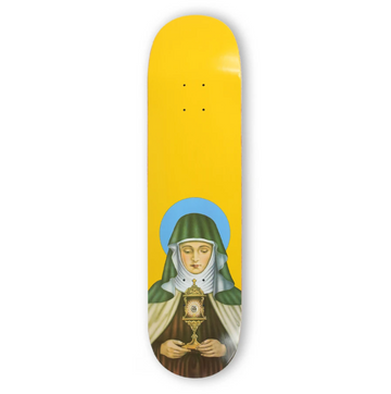 Theories New Religion Canary Skate Deck in 8.25