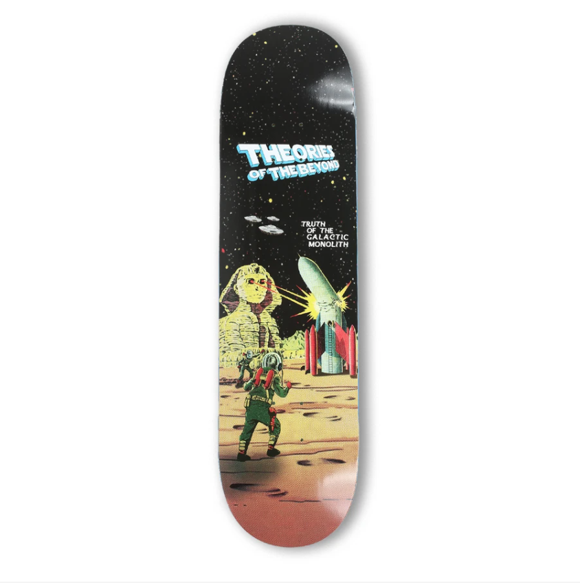 Theories of the Beyond Skate Deck in 8.5