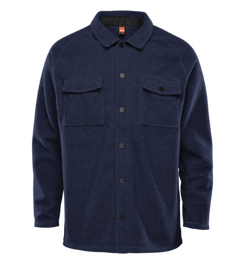 2021 Thirty Two (32) Rest Stop Flannel in Navy/Heather