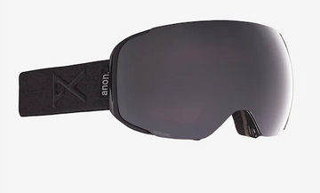 2021 Anon M2 Snow Goggle in Black with a Smoke Lens and a Perceive Sunny Onyx Bonus Lens