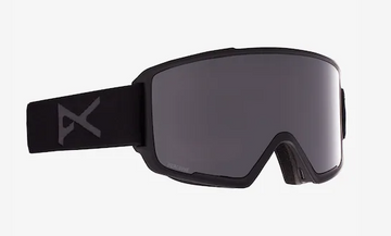 2021 Anon M3 Snow Goggle in Black with a Smoke Lens and a Perceive Sunny Onyx Bonus Lens