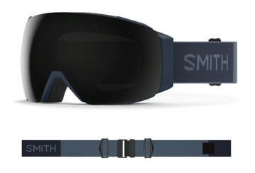 2021 Smith I/O MAG Snow Goggle in a French Navy Frame with a ChromaPop Sun Black Lens