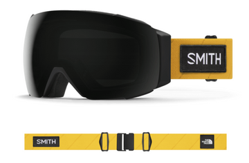 2021 Smith I/O MAG Snow Goggle in a TNF X Austin Smith Frame with a ChromaPop Sun Black Lens