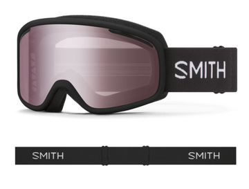 2021 Smith Vogue Snow Goggle in a Black Frame with a Ignitor Mirror Lens