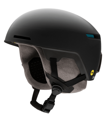 2021 Smith Code MIPS Snow Helmet in Matte Black