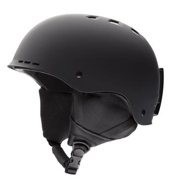 2021 Smith Holt Snow Helmet in Matte Black