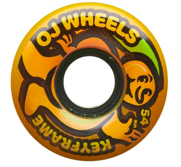 OJ Mango Keyframe Skateboard Wheel in 87a 54mm