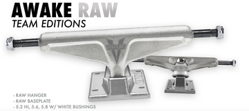Venture Awake Raw Team Edition Skate Trucks
