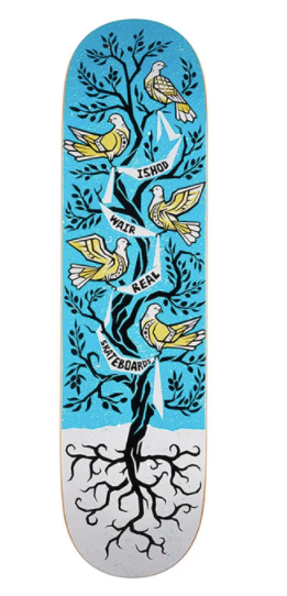 Real Ishod Peace Tree Skate Deck in 8.38