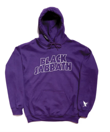 Lakai x Black Sabbath Master of Reality Pullover Hoodie in Purple