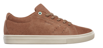 Emerica Americana Skate Shoe in Rust