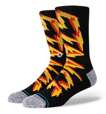 Stance Electrified Sock in Black
