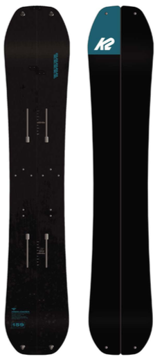 2022 K2 Freeloader Splitboard with Pucks Hardware and Pre Cut Skins