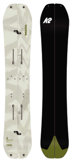 2022 K2 Marauder Splitboard With Pucks Hardware and Pre Cut Skins
