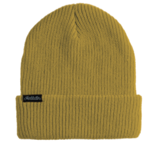 2022 Airblaster Youth Commodity Beanie in Gold