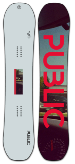 2022 Public Public Display Snowboard (Mathes)