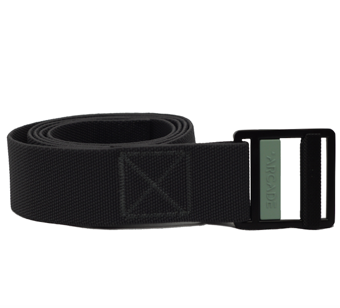 Arcade Guide Belt in Charcoal and Blue