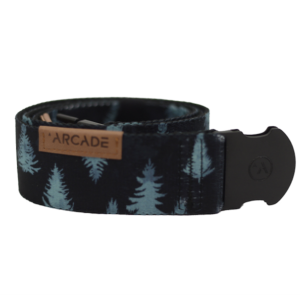 Arcade Ranger Belt in Black and Blue