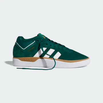 Adidas Tyshawn Shoe in Green White and Gum