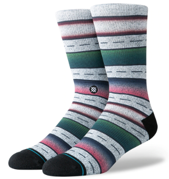 Stance Sierras Sock in Grey