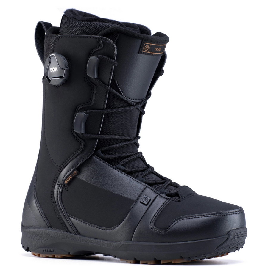 2020 Ride Triad Snowboard Boot in Black