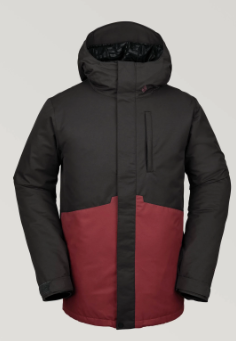 2020 Volcom 17Forty Insulated Snow Jacket in Vintage Black