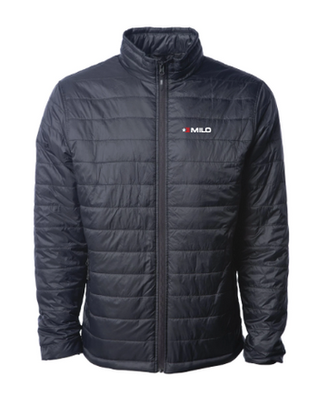 Milosport Hyper Puff Insulator Jacket in Black