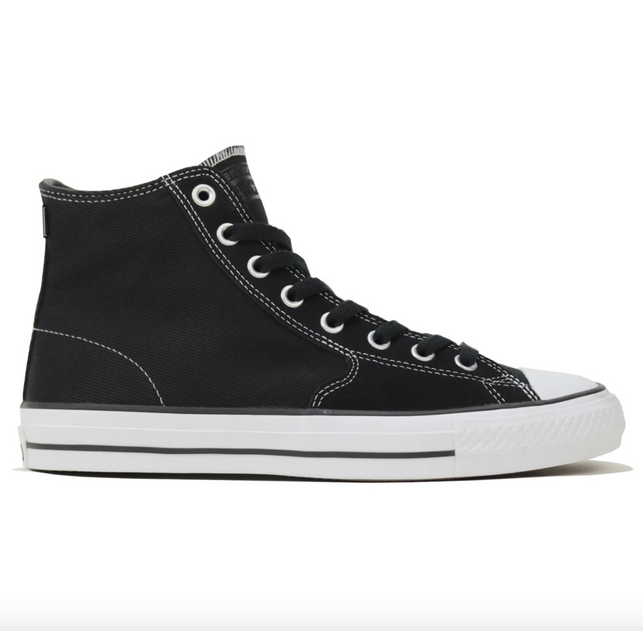 Converse CTAS Pro SJO Hi in Black and Orange Rind