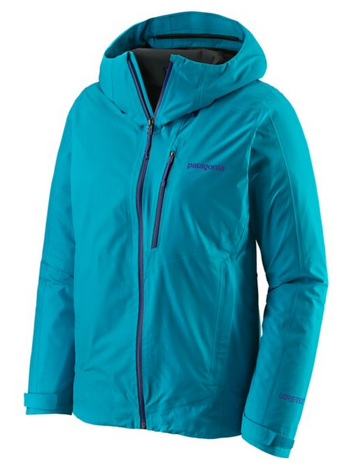 2020 Patagonia Women's Calcite Jacket Curacoa Blue