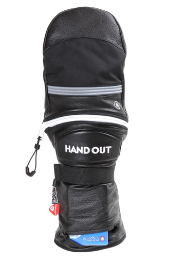 2020 Hand Out Pro Mittens Black/Grey