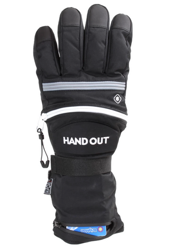 2020 Hand Out Sport Gloves Black/Grey